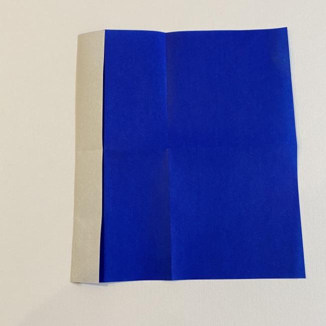 こいのぼりの折り紙(年少さんの製作) 折り方作り方3 (2)