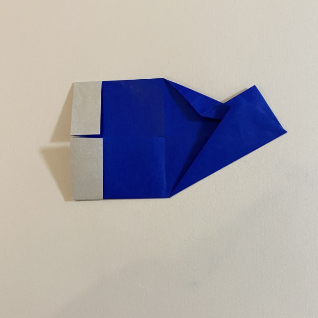 こいのぼりの折り紙(年少さんの製作) 折り方作り方7 (2)