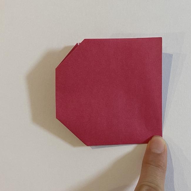 さくらんぼの折り紙の作り方折り方は簡単♪ (11)