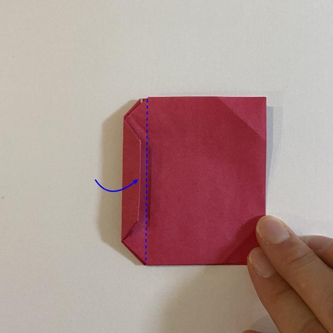 さくらんぼの折り紙の作り方折り方は簡単♪ (12)