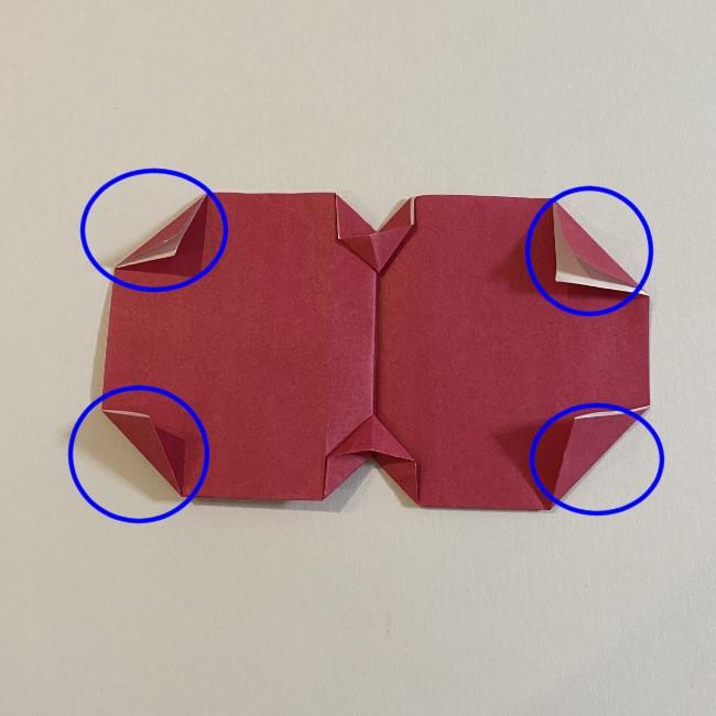 さくらんぼの折り紙の作り方折り方は簡単♪ (15)