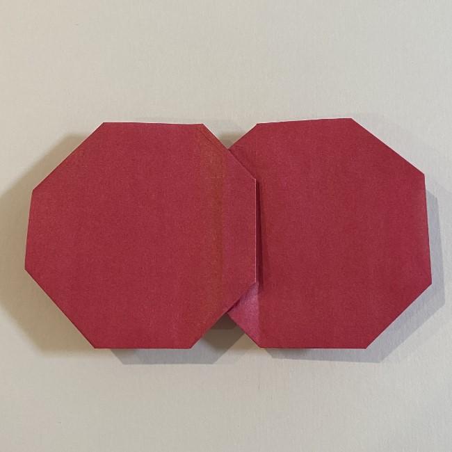 さくらんぼの折り紙の作り方折り方は簡単♪ (16)