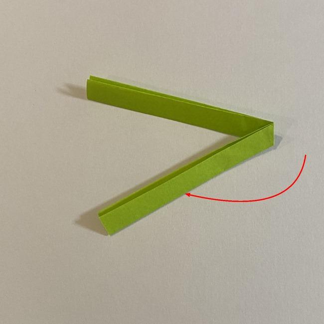 さくらんぼの折り紙の作り方折り方は簡単♪ (5)