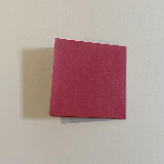 さくらんぼの折り紙の作り方折り方は簡単♪ (7)