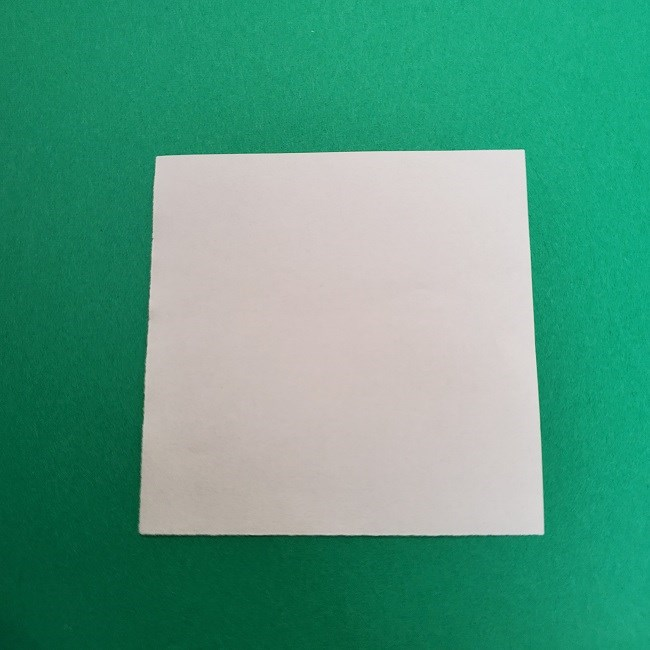 さびとのお面の折り紙折り方 (1)