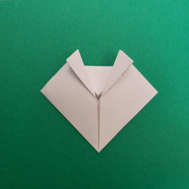 さびとのお面の折り紙折り方 (10)