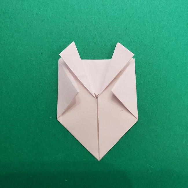 さびとのお面の折り紙折り方 (11)