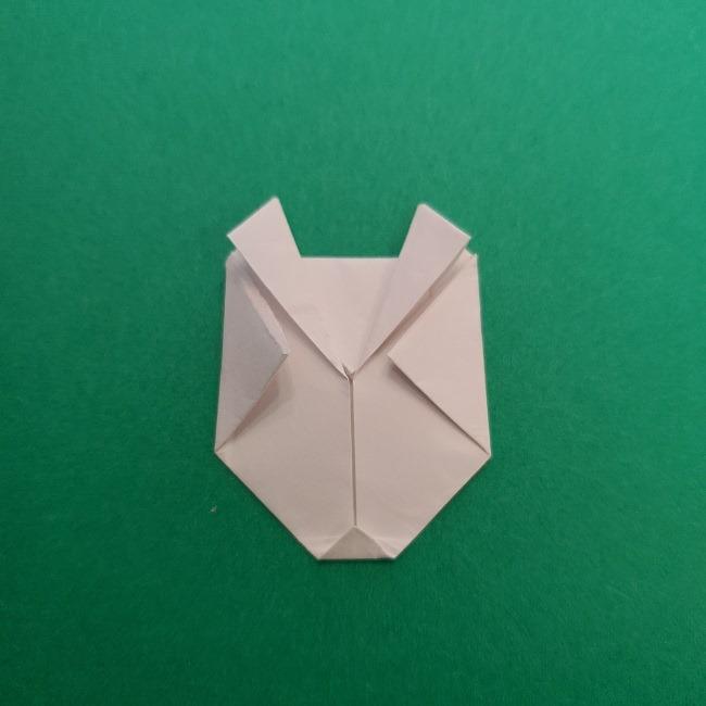 さびとのお面の折り紙折り方 (12)