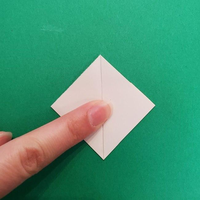 さびとのお面の折り紙折り方 (4)