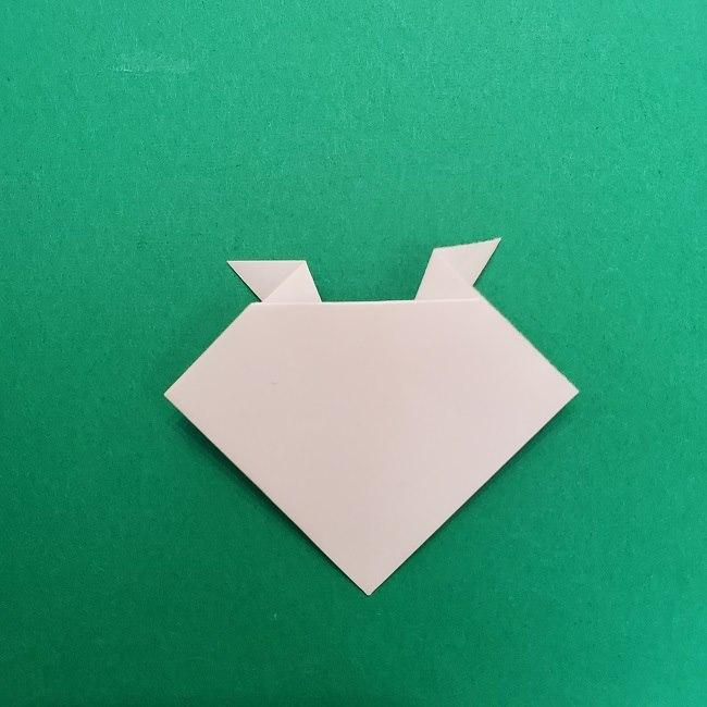 さびとのお面の折り紙折り方 (6)