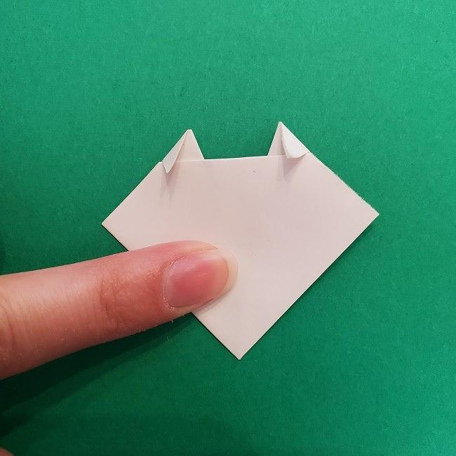 さびとのお面の折り紙折り方 (7)