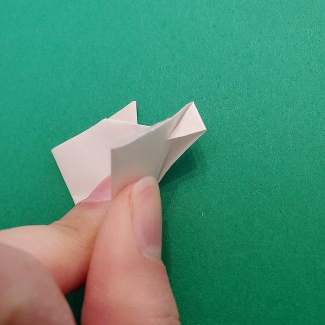 さびとのお面の折り紙折り方 (8)