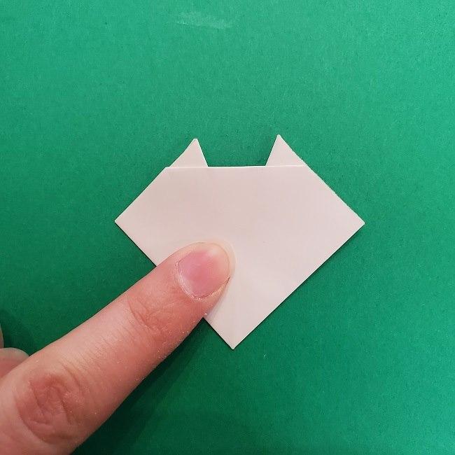 さびとのお面の折り紙折り方 (9)