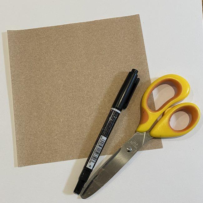 つくしの折り紙は簡単!用意するもの