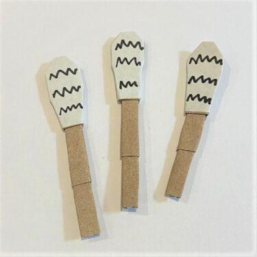 つくしの折り紙 簡単で3月保育製作にも♪3歳からつくれる折り方作り方を紹介