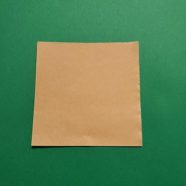 ひめじまぎょうめいの折り紙 折り方作り方1顔 (1)