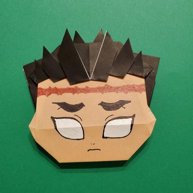 ひめじまぎょうめいの折り紙 折り方作り方5完成 (10)