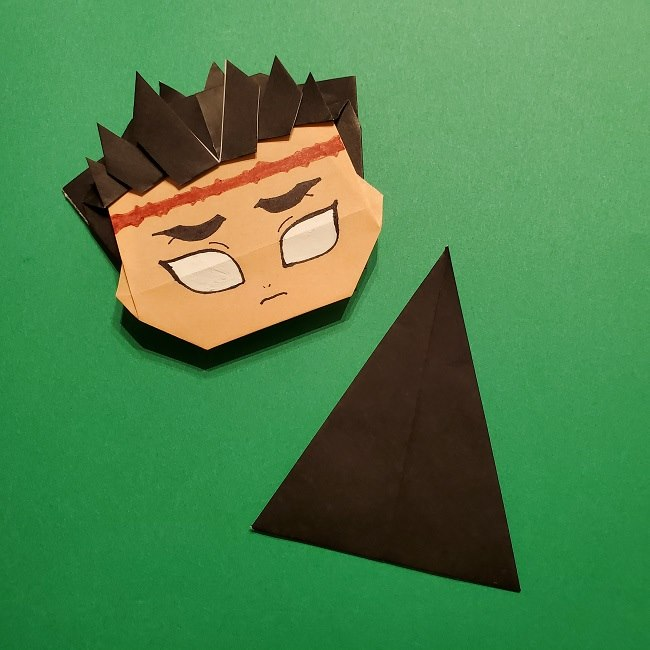 ひめじまぎょうめいの折り紙 折り方作り方5完成 (11)