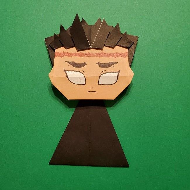 ひめじまぎょうめいの折り紙 折り方作り方5完成 (12)