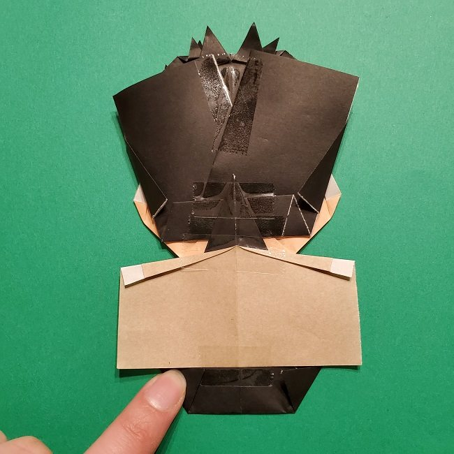 ひめじまぎょうめいの折り紙 折り方作り方5完成 (16)