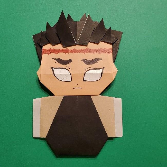 ひめじまぎょうめいの折り紙 折り方作り方5完成 (17)