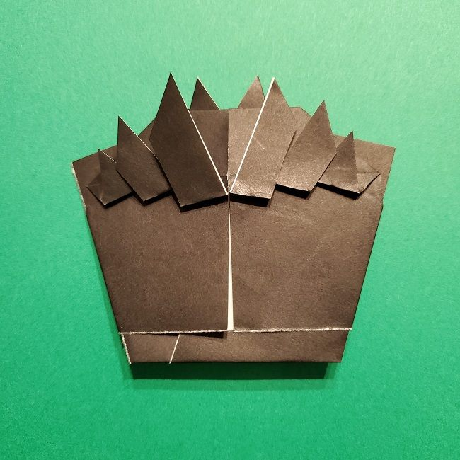 ひめじまぎょうめいの折り紙 折り方作り方5完成 (7)