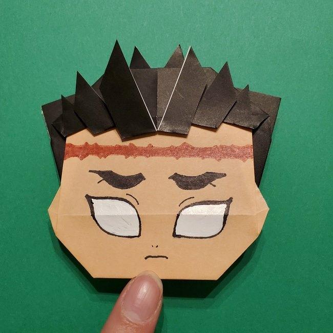 ひめじまぎょうめいの折り紙 折り方作り方5完成 (8)