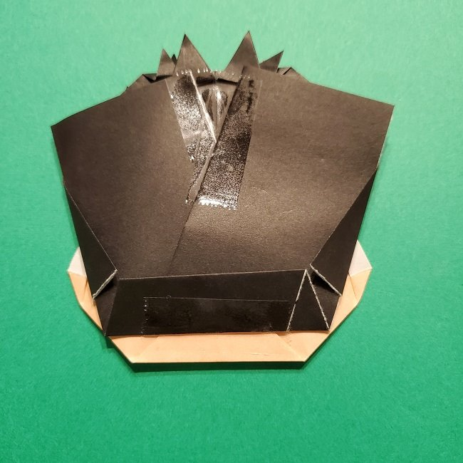 ひめじまぎょうめいの折り紙 折り方作り方5完成 (9)
