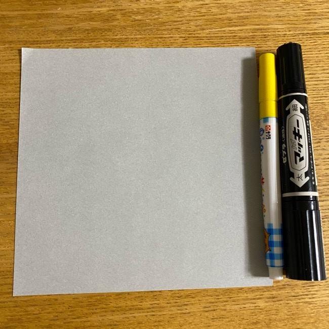 ふくろう 折り紙のフクロウはかわいい!*用意する物