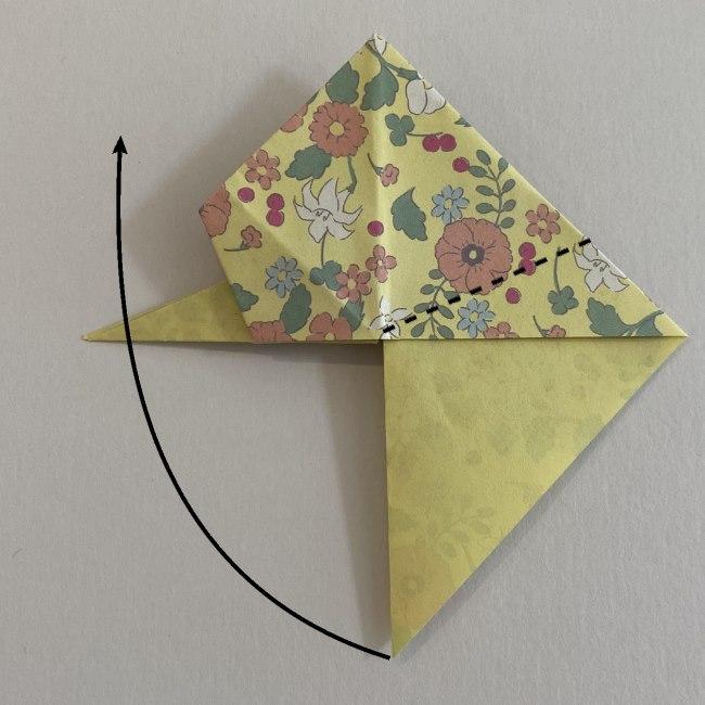 カタツムリの折り紙は保育園の製作にも☆折り方作り方 20 (1)