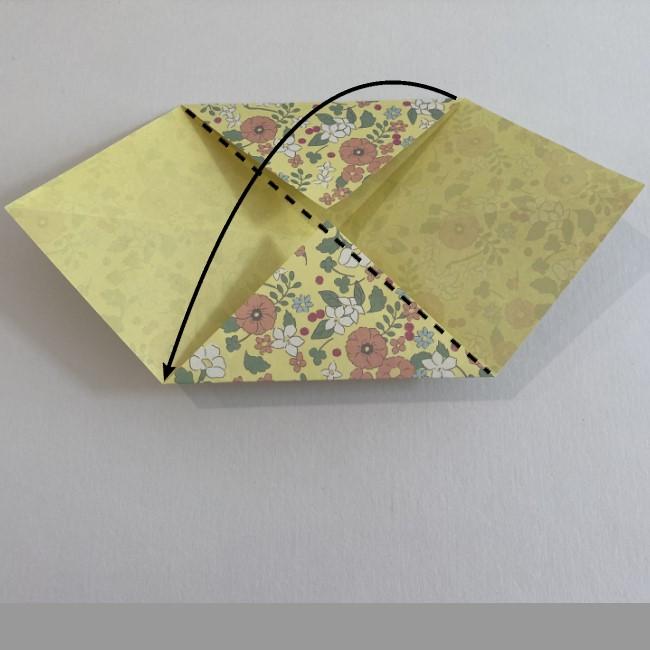 カタツムリの折り紙は保育園の製作にも☆折り方作り方 (6)