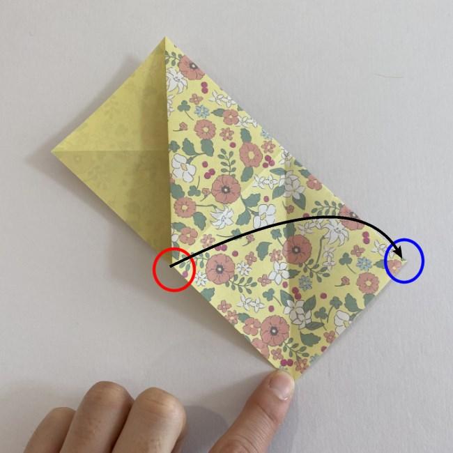 カタツムリの折り紙は保育園の製作にも☆折り方作り方 (7)