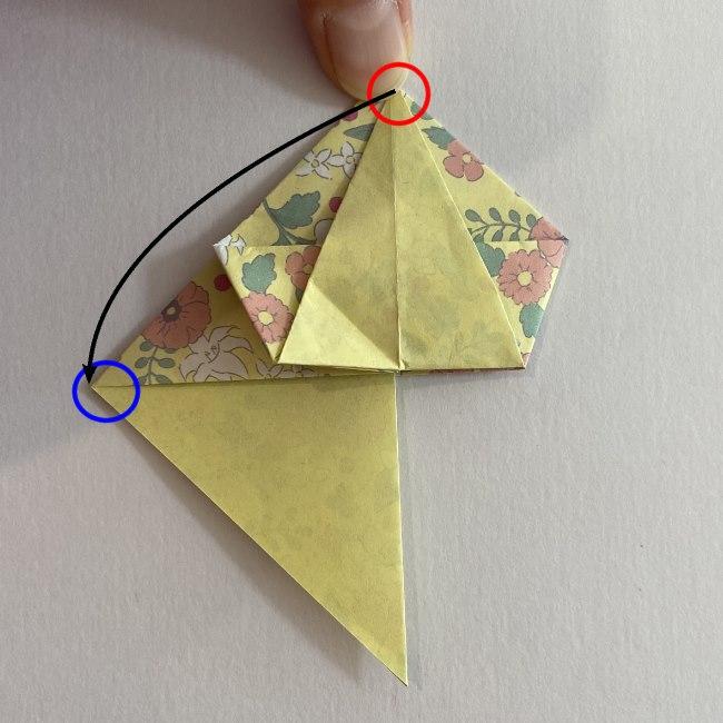 カタツムリの折り紙は保育園の製作にも☆折り方作り方16 (1)