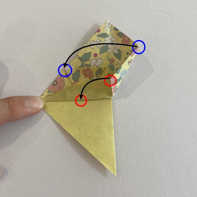 カタツムリの折り紙は保育園の製作にも☆折り方作り方16 (2)