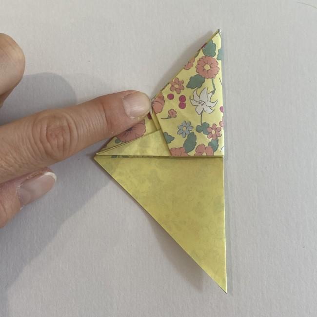カタツムリの折り紙は保育園の製作にも☆折り方作り方16