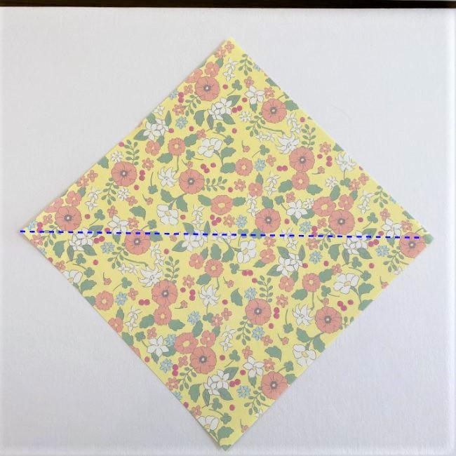 カタツムリの折り紙は保育園の製作にも!折り方作り方 (1)