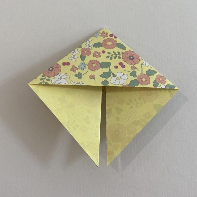 カタツムリの折り紙は保育園の製作にも!折り方作り方 (10)