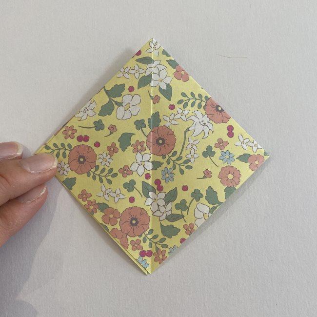 カタツムリの折り紙は保育園の製作にも!折り方作り方 (12)