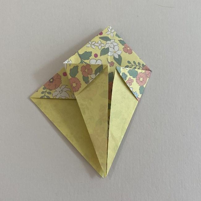カタツムリの折り紙は保育園の製作にも!折り方作り方 (13)