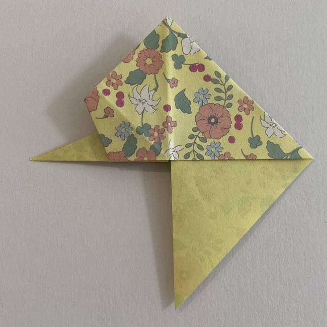 カタツムリの折り紙は保育園の製作にも!折り方作り方 (19)