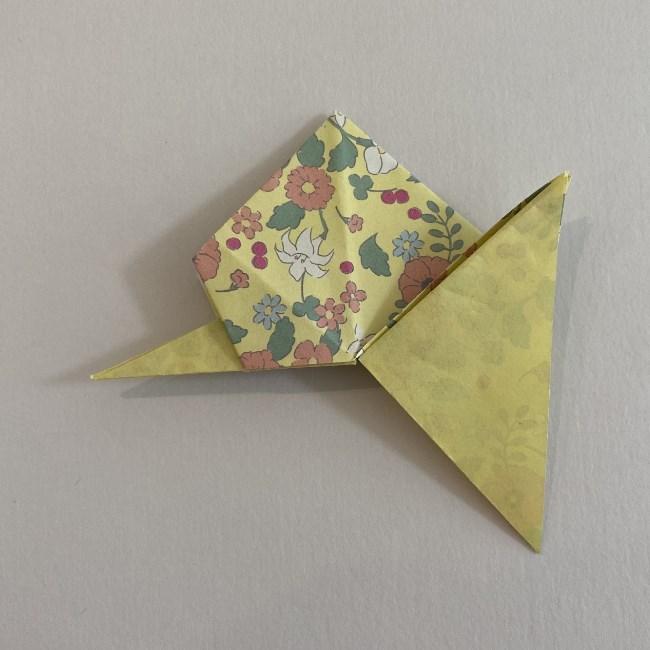 カタツムリの折り紙は保育園の製作にも!折り方作り方 (22)