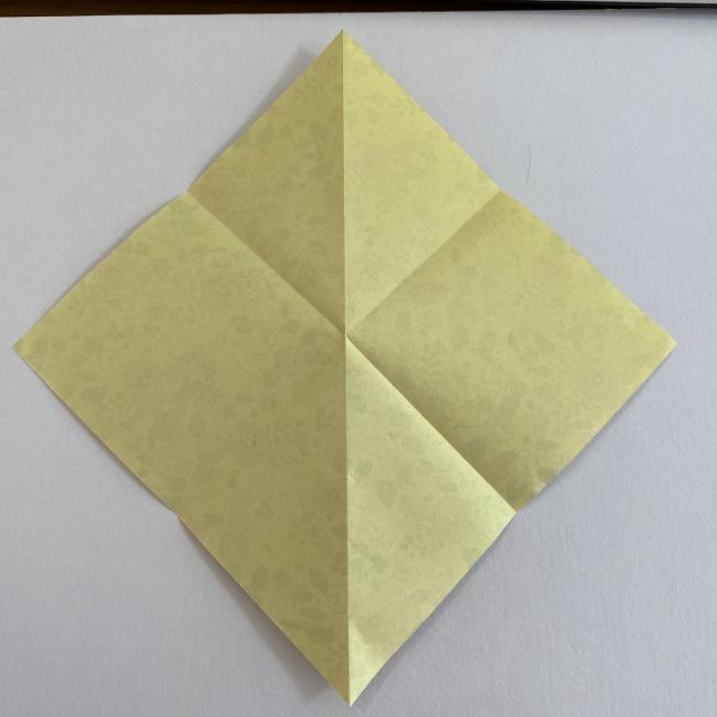 カタツムリの折り紙は保育園の製作にも!折り方作り方 (4)