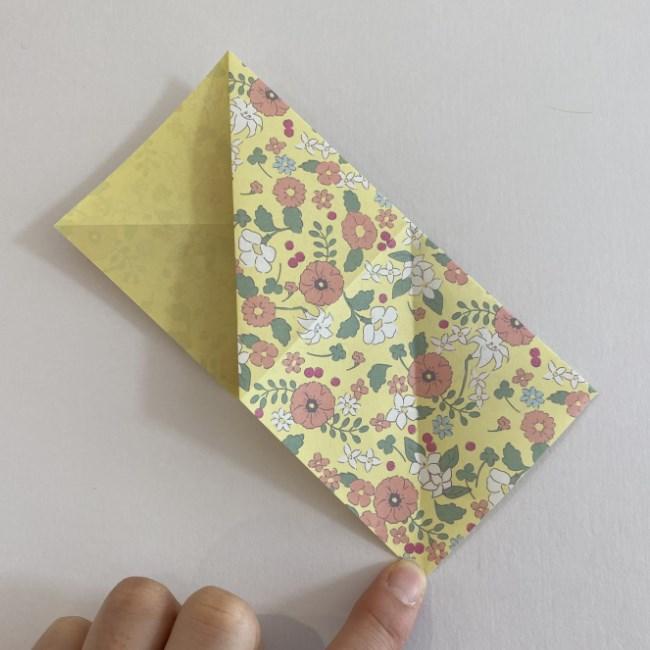 カタツムリの折り紙は保育園の製作にも!折り方作り方 (7)