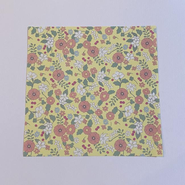 カタツムリの折り紙は保育園の製作にも!折り方作り方