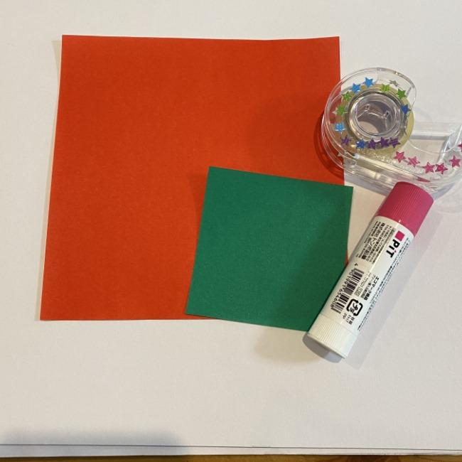 カーネーションの折り紙は はさみなしで手作りできる♪