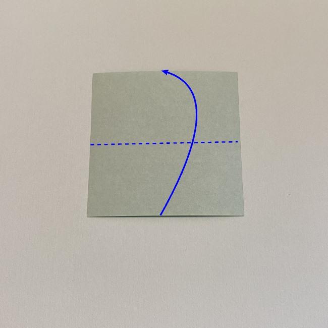 カーネーションの折り紙 幼稚園の子どもでも簡単な折り方作り方 (14)