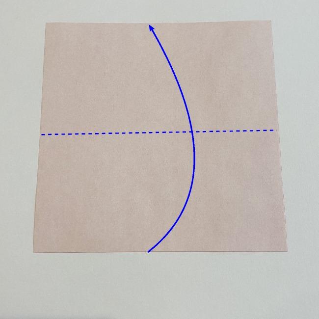 カーネーションの折り紙 幼稚園の子どもでも簡単!折り方作り方 (1)