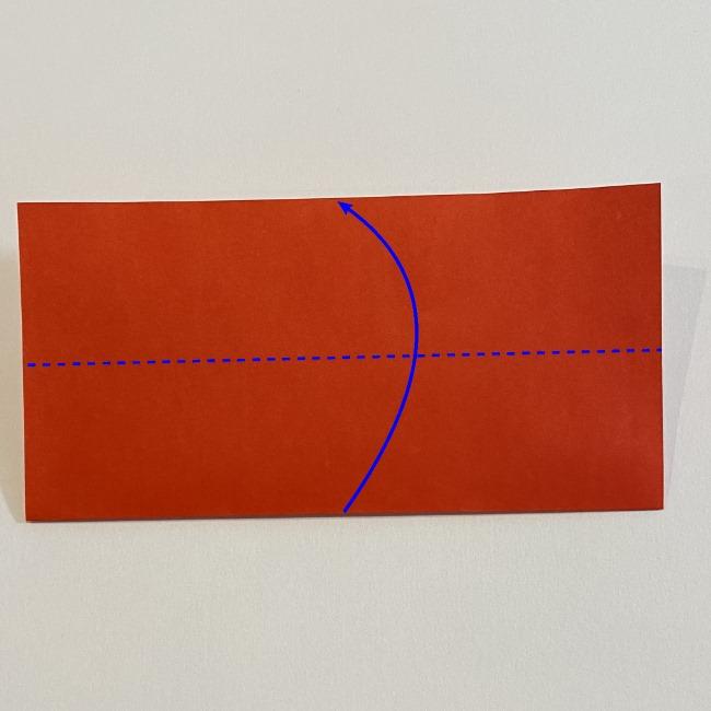 カーネーションの折り紙 幼稚園の子どもでも簡単!折り方作り方 (2)