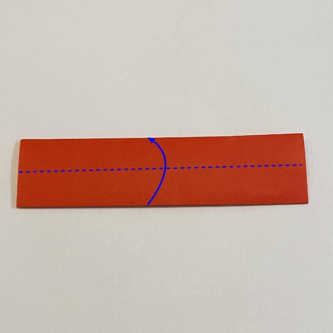 カーネーションの折り紙 幼稚園の子どもでも簡単!折り方作り方 (3)