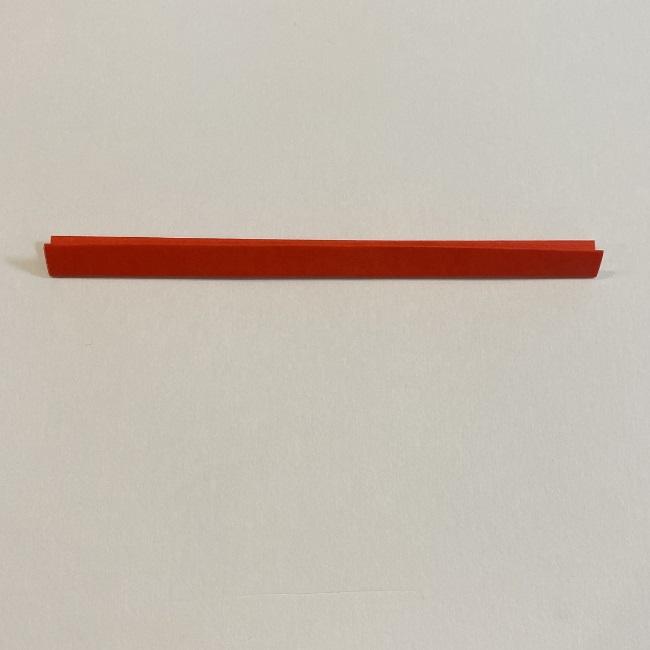 カーネーションの折り紙 幼稚園の子どもでも簡単!折り方作り方 (5)